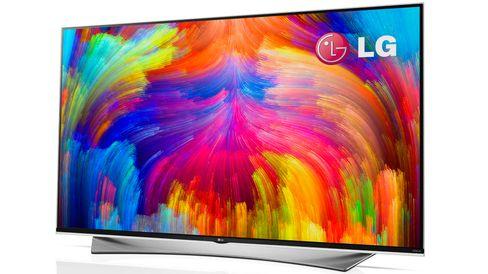 Slik ser den nye 4K-TV-en med «kvanteprikk»-teknologi ut.