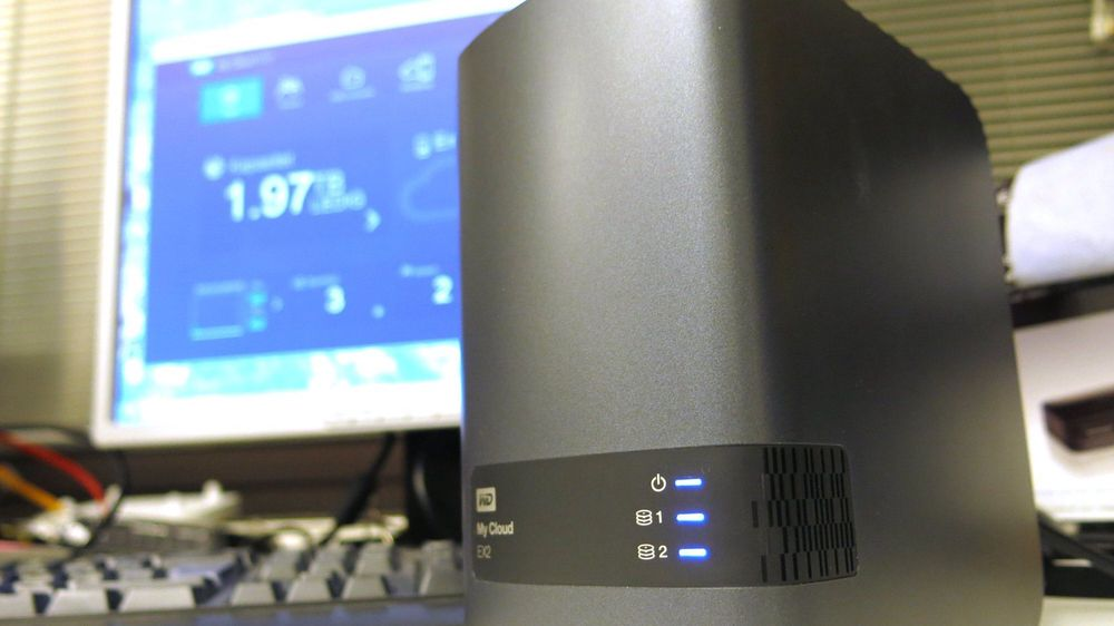 TEST: Western Digital My Cloud EX2