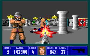 Wolfenstein 3D.