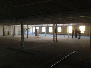 Larians nye Quebec-kontor. Litt tomt, fortsatt.