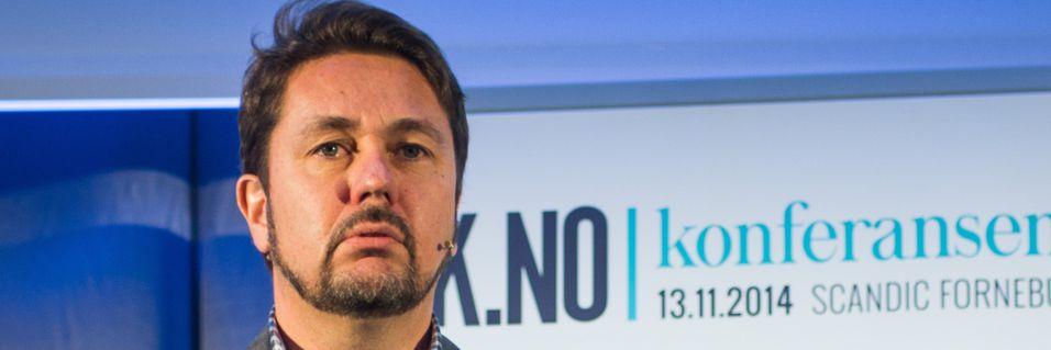 Tele2-sjef Arild Hustad mener det kun er Telenor som vil tjene på det dersom Konkurransetilsynet sier nei til Netcoms kjøp av Tele2.