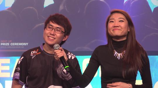 ForGG intervjues etter å ha tatt førsteplassen under årets DreamHack Winter.
