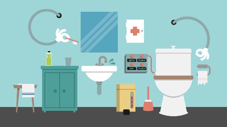 5 ting som vil gjøre badet ditt litt smartere