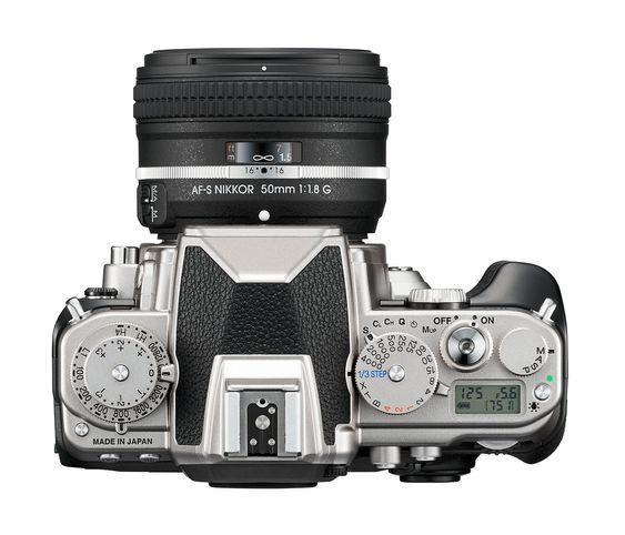 Nikon Dfs topplate.