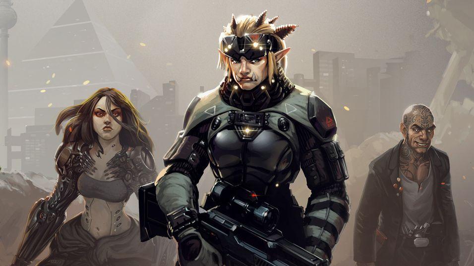 Shadowrun er tilbake neste år