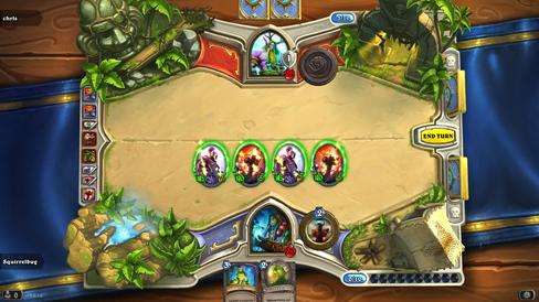 Hearthstone: Heroes of Warcraft.