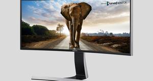 Samsung har lansert en massiv PC-skjerm