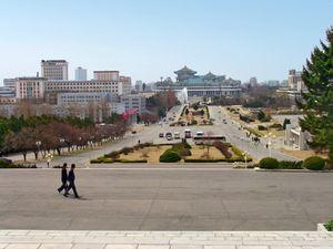 Hovedstaden Pyongyang.