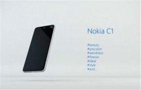 Dette bildet av Nokia C1 gikk rundene på ryktebørsen, men det viste seg å være laget av en fan.