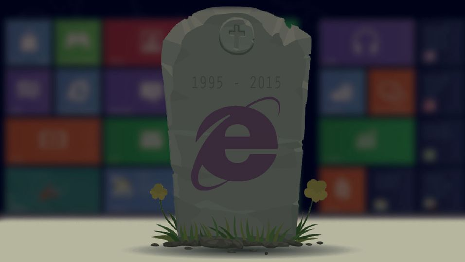 2015 kan bli døden for Internet Explorer
