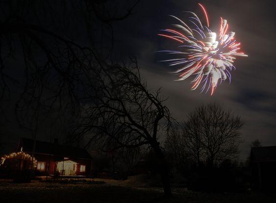 «Godt nytt år!».