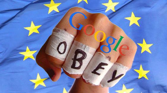 EU påla Google å lytte til personer som ville rydde opp i sine Google-treff.