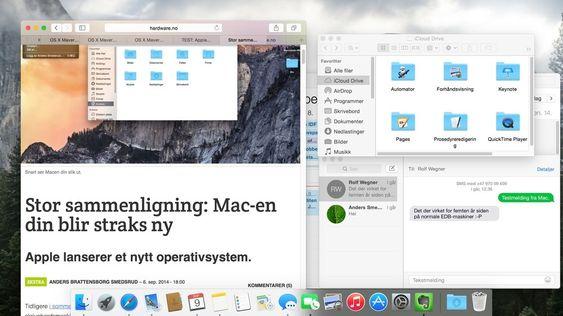 Yosemite endret Mac-en din i år.