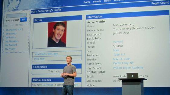 Mye har skjedd med Facebook siden den første versjonen for 10 år siden.