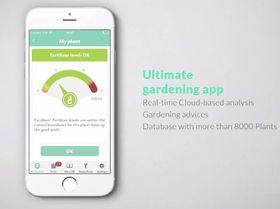Appen gir deg løpende informasjon om plantens tilstand og behov.