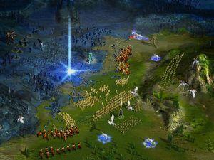GSC utviklet også strategispill. Her er Heroes of Annihilated Empires.
