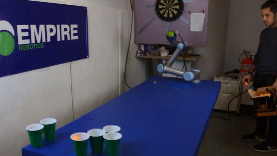 Du trodde du var god i beer-pong?
