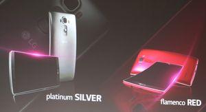 LG G Flex 2 fås i flere farger.