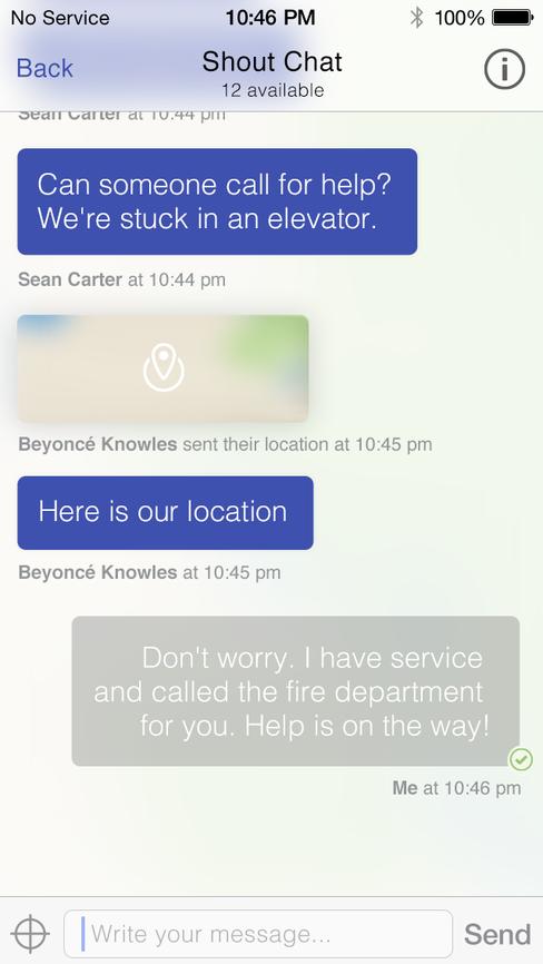 Dingsen kan ha avgjørende betydning for sikkerheten. I dette tilfellet er det tilsynelatende Beyoncé som har satt seg fast i heisen og trenger hjelp.
