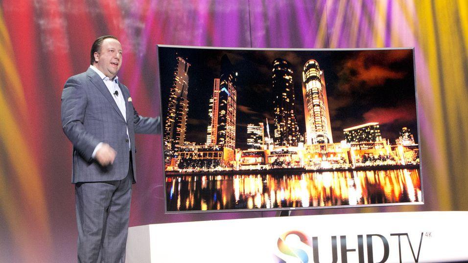 Samsungs SUHD-TV, som ble avduket på CES-messen, er blant produktene som blir kompatible med Vidity-løsningen.