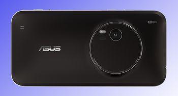 Slank telefon med optisk zoom fra Asus