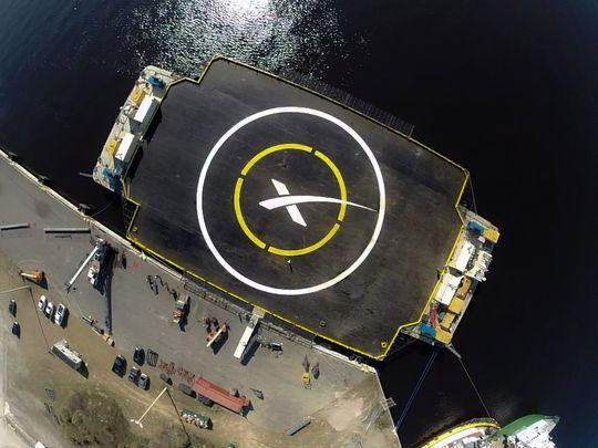 Lekteren som SpaceX sikter på.
