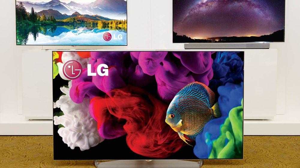 LGs nye OLED bøyer du med fjernkontrollen