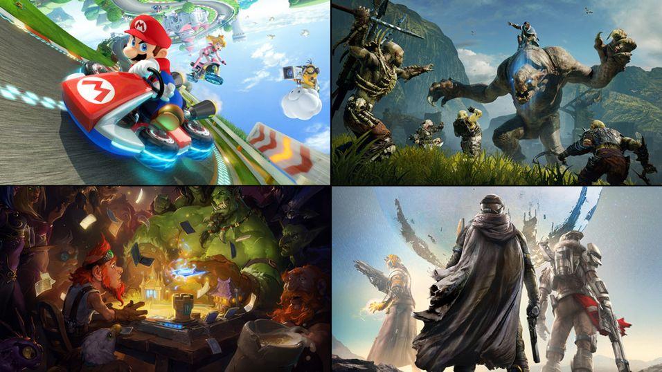 Hvilket spill likte du best i 2014?