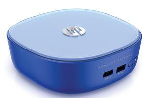 HP Stream mini er litt blå av seg.