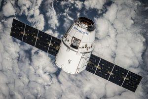 Dragon-kapselen til SpaceX.