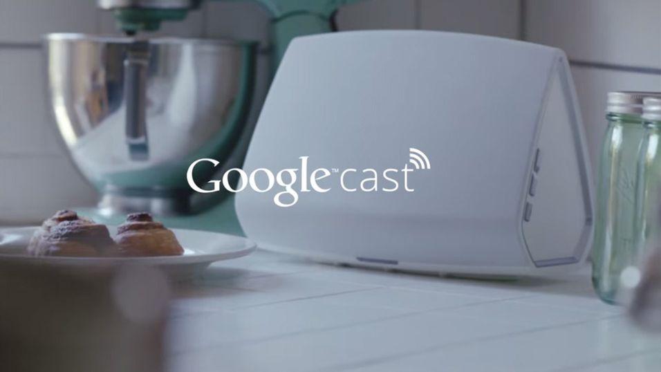 Snart kan du strømme lyd med Google Cast
