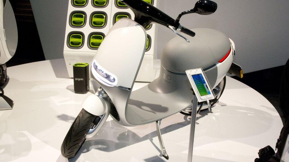 Her er verdens første smartscooter