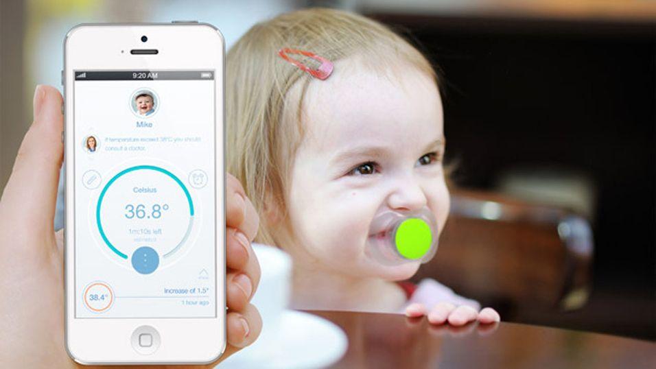 Smart-smukk sjekker om babyen din har feber