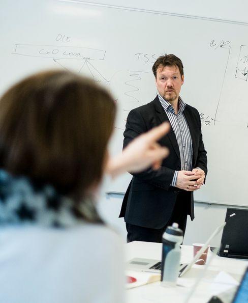 Nils-Ove Gamlem, teknologidirektør i Cisco.