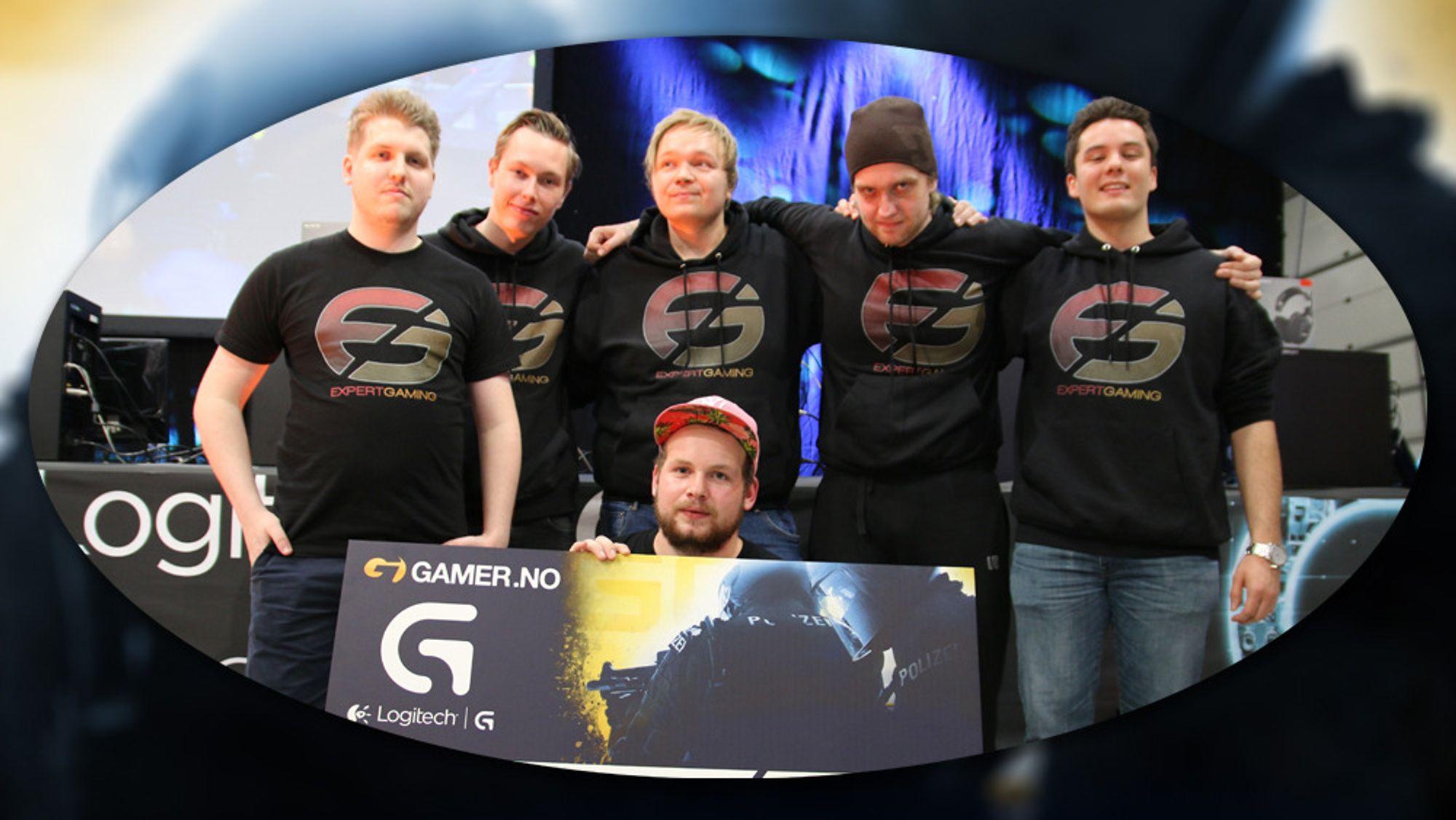 Expert-Gaming vant 10 000 kroner etter å ha stukket av med seieren i Logitech G Counter-Strike Series i november.