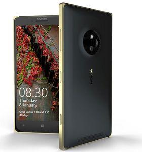 Lumia 830 Gold.