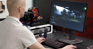 Asus ROG Swift PG27AQ Asus kommer med en ny og helt rå spillskjerm – vi har prøvd den