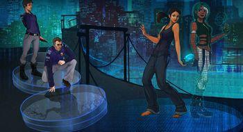 Cyberpunk-eventyr fra Blackwell-skaperne