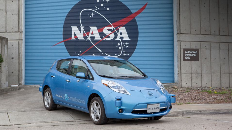 Nissan skal lage biler med NASA