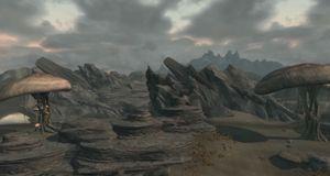 Se Morrowinds nordligste punkt gjenskapt i Skyrim
