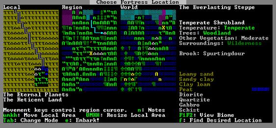 Dwarf Fortress.