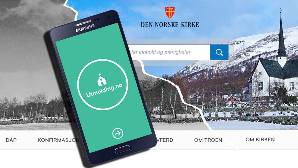 Ny app gjør det kjempelett å melde seg ut av kirken