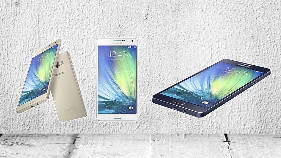 Samsung slipper ny toppmodell i sin metall-serie
