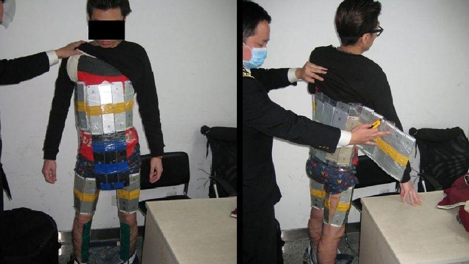 Slik prøvde han å smugle 94 iPhoner inn til Kina