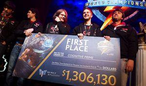 Cognitive Prime vant VM i Smite.