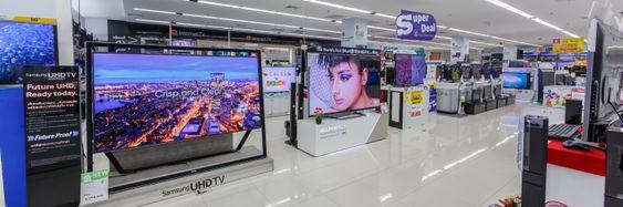 TV-er er langt bedre, rimeligere og større enn før.
