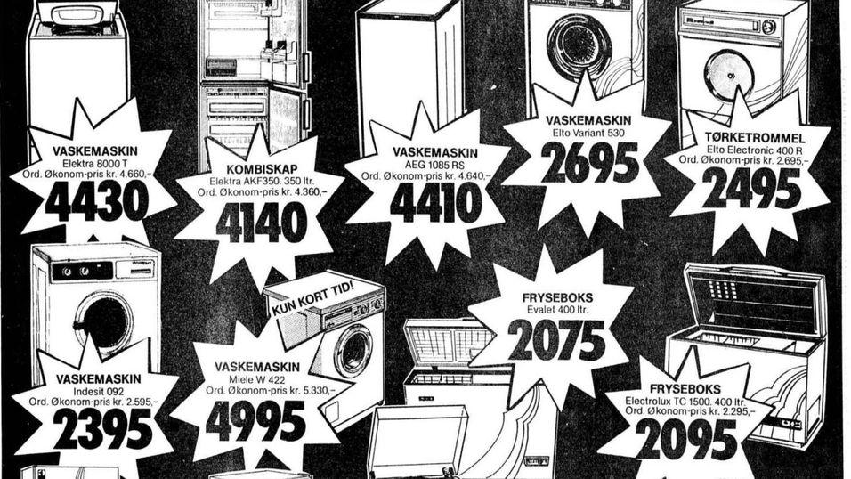 Dagens elektronikkpriser minner om 80-tallet