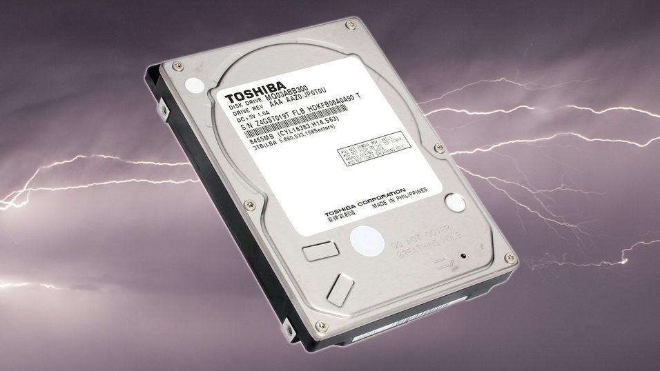 Toshibas 2,5-tommer setter rekord