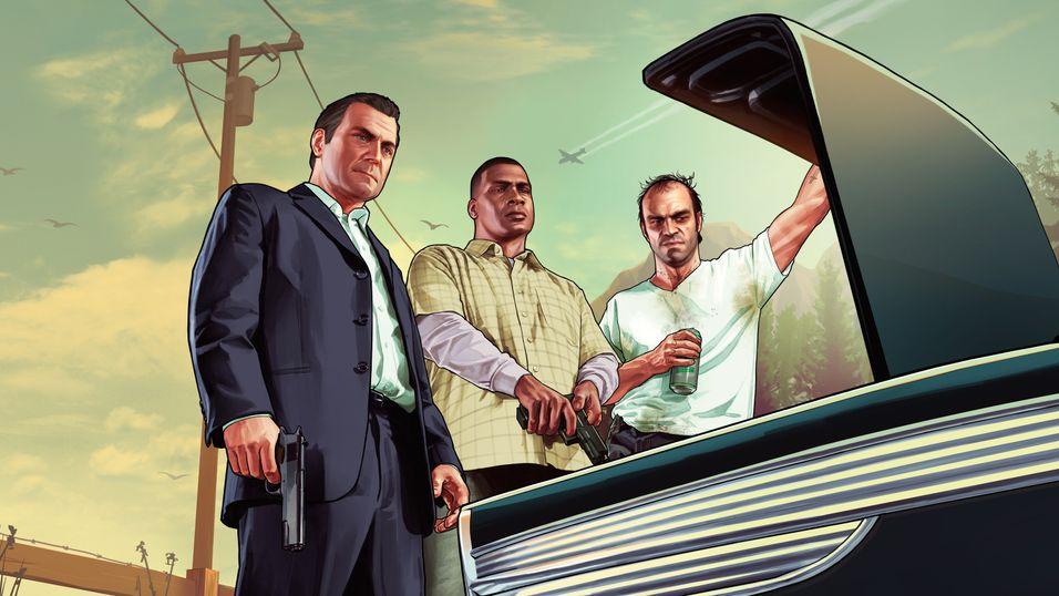 Grand Theft Auto V kommer ikke før i mars.