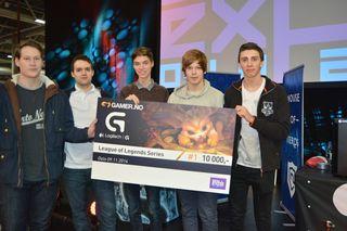 Omid «Touch» Rosander  vant Gamer-ligaen med Aria eSports i 2014.